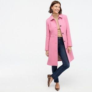 J Crew Classic lady day coat in Italian Wool